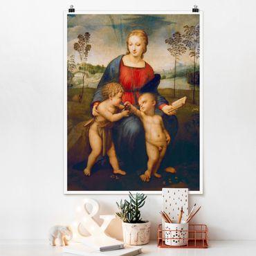 Poster - Raffael - Madonna - Verticale 4:3