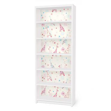 Carta adesiva per mobili IKEA - Billy Libreria - Dreaming Giraffe