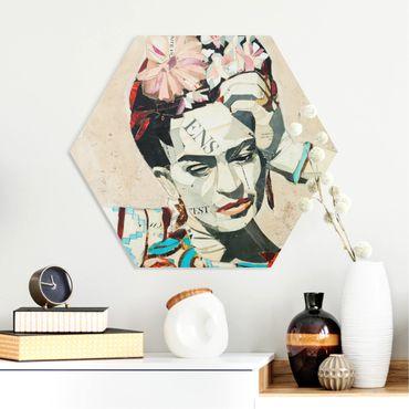 Esagono in forex - Frida Kahlo - Collage No.1