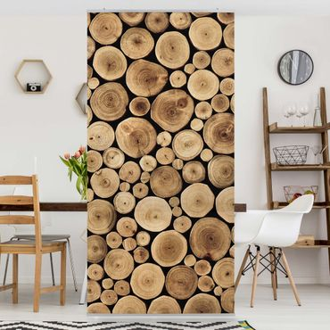Tenda a pannello Homey Firewood 250x120cm