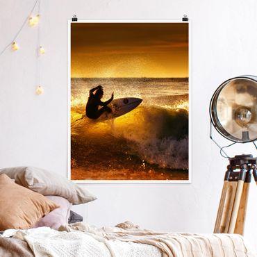 Poster - Sole, divertimento e Surf - Verticale 4:3