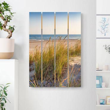 Stampa su legno - Beach Dune Al Mare - Verticale 3:2