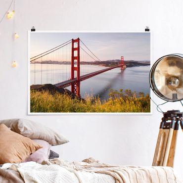 Poster - Golden Gate Bridge di San Francisco - Orizzontale 2:3