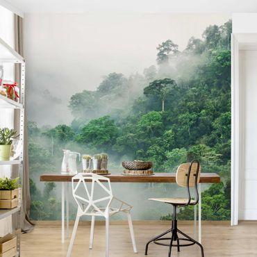 Carta da parati paesaggio - Giungla nella nebbia