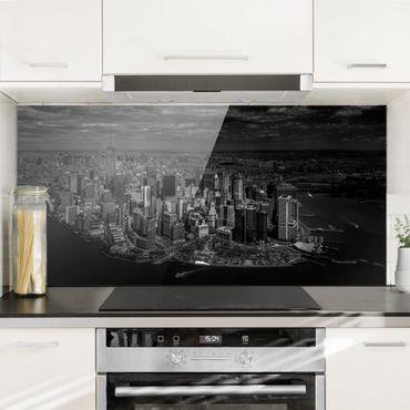 Paraschizzi in vetro - New York - Manhattan From The Air