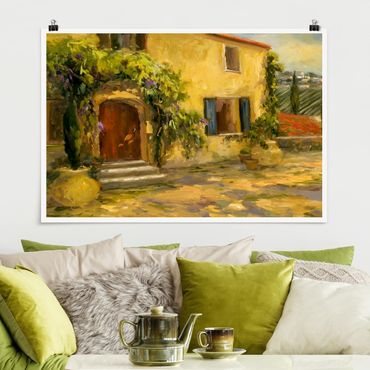 Poster - Campagna italiana - Toscana - Orizzontale 2:3