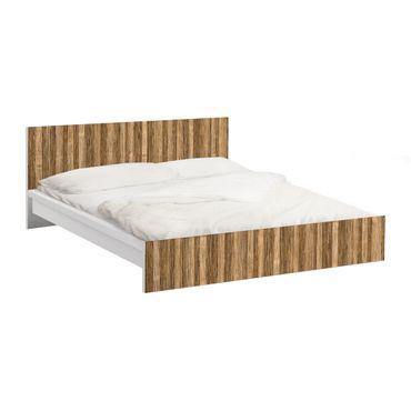 Carta adesiva per mobili IKEA - Malm Letto basso 140x200cm Light Amazakou