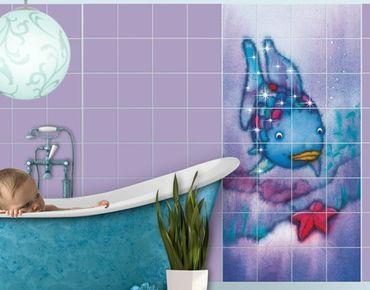 Adesivo per piastrelle - The Rainbow Fish - The Starfish