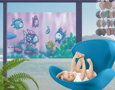 Decorazione per finestre The Rainbow Fish - Underwater Paradise