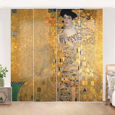 Tende scorrevoli set - Gustav Klimt - Portrait Of Adele Bloch-Bauer I