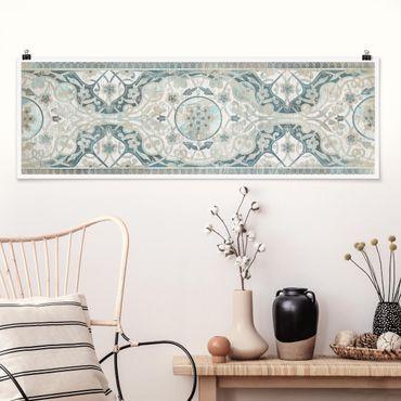 Poster - Comitato di legno persiana I dell'annata - Panorama formato orizzontale
