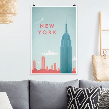 Poster - Poster Viaggi - New York - Verticale 3:2