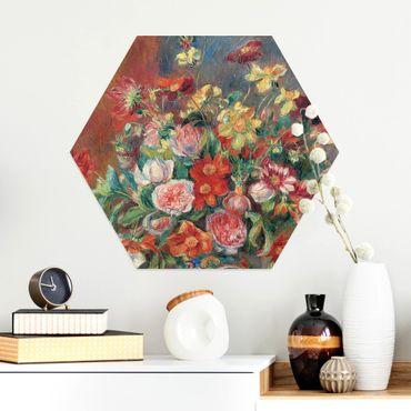 Esagono in Alluminio Dibond - Auguste Renoir - Vaso