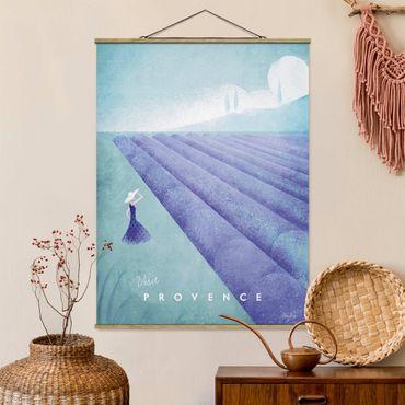 Foto su tessuto da parete con bastone - Poster Viaggi - Provenza - Verticale 4:3
