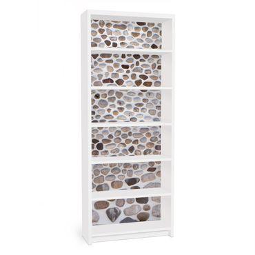 Carta adesiva per mobili IKEA - Billy Libreria - Andalusian stone wall