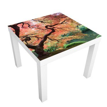 Carta adesiva per mobili IKEA - Lack Tavolino Japanese Garden