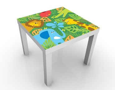 Tavolino design no.BP4 Zoo Animals