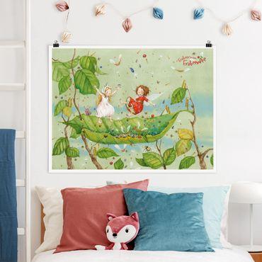 Poster - Strawberry Coniglio Erdbeerfee - Trampolino - Orizzontale 3:4