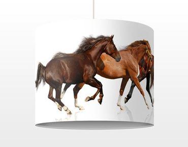 Lampadario design Horse Herd