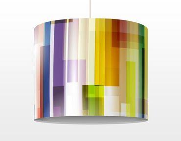 Lampadario design Rainbow Cubes