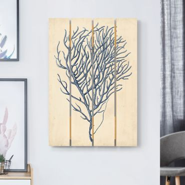 Stampa su legno - Indigo Coral III - Verticale 3:2