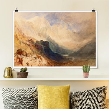 Poster - William Turner - Valle d'Aosta - Orizzontale 2:3
