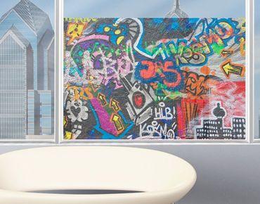 Decorazione per finestre Urban Graffiti