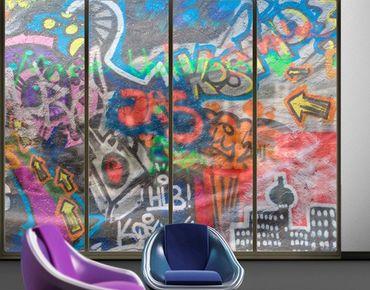 XXL Pellicola per vetri - Urban Graffiti