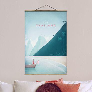 Foto su tessuto da parete con bastone - Poster Viaggio - Thailandia - Verticale 3:2