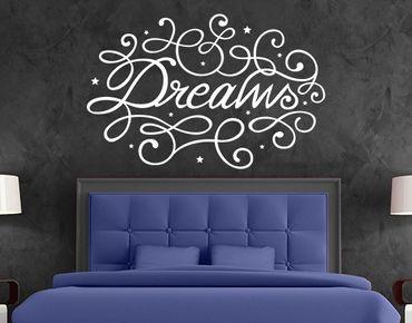 Adesivo murale no.BP10 Dreams