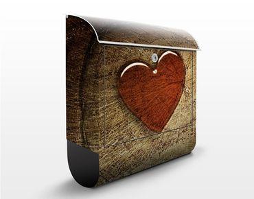 Cassetta postale Natural Love 39x46x13cm
