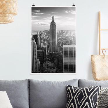 Poster - skyline di Manhattan - Verticale 3:2