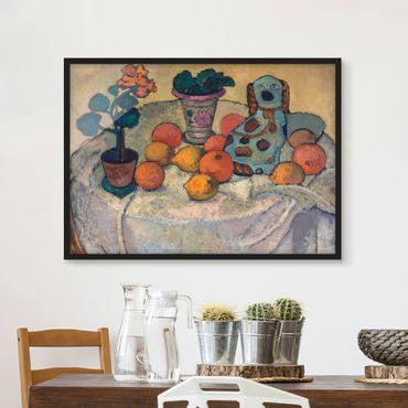 Poster con cornice - Paula Modersohn-Becker - Still Life With Oranges - Orizzontale 3:4