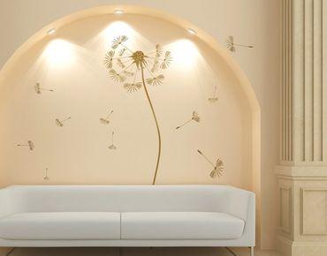 Adesivo murale no.252 Dandelion Gold