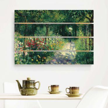 Stampa su legno - Auguste Renoir - Women In The Garden - Orizzontale 2:3