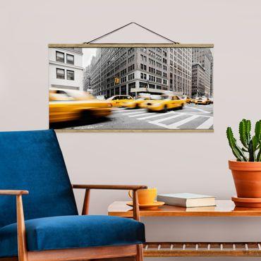 Foto su tessuto da parete con bastone - Rapid New York - Orizzontale 1:2