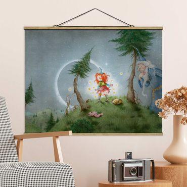 Foto su tessuto da parete con bastone - Frida imposta la stella libera - Orizzontale 3:4