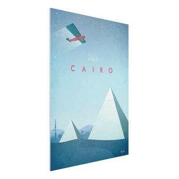 Stampa su Forex - Poster viaggio - Il Cairo - Verticale 4:3