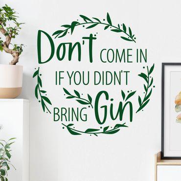Adesivo murale - Non entrare
