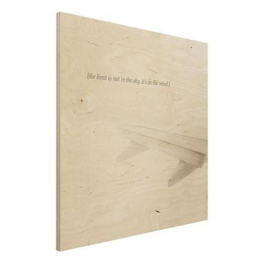 Stampa su legno - Paesaggi lirici - Cielo - Quadrato 1:1