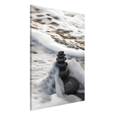 Lavagna magnetica - Torre Pietra E Saluto - Formato verticale 2:3
