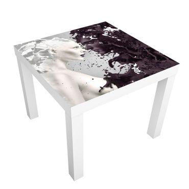 Carta adesiva per mobili IKEA - Lack Tavolino Milk & Coffee