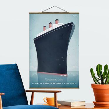 Foto su tessuto da parete con bastone - Poster Viaggi - Nave da crociera - Verticale 3:2