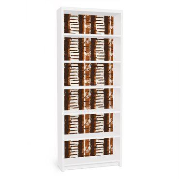 Carta adesiva per mobili IKEA - Billy Libreria - Ethno Strips
