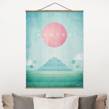 Foto su tessuto da parete con bastone - Poster di viaggio - Messico - Verticale 4:3