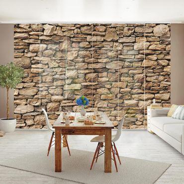 Tende scorrevoli set - American Stone Wall
