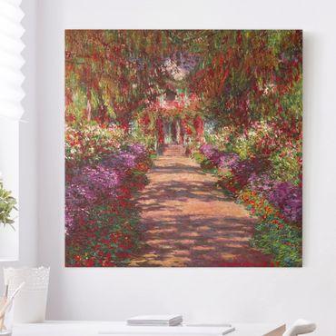 Quadri su tela - Claude Monet - Percorso nel Giardino di Monet Giverny A