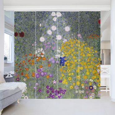 Tende scorrevoli set - Gustav Klimt - Farmhouse Garden