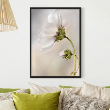 Poster con cornice - Heavenly Dream Of Blossoms - Verticale 4:3