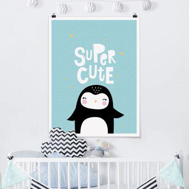 Poster - Sveglio eccellente Penguin - Verticale 4:3